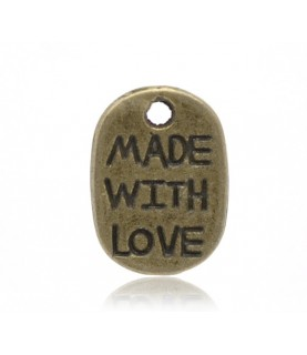 Charm made with love
