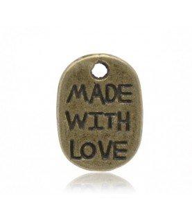 Comprar Charm made with love de Conideade