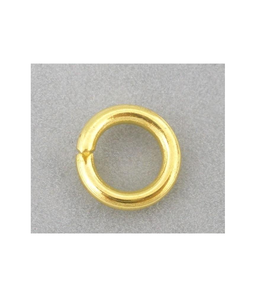 Pack de 25 Arandelas doradas de 8 mm