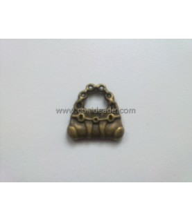 Charm Bolso bronce
