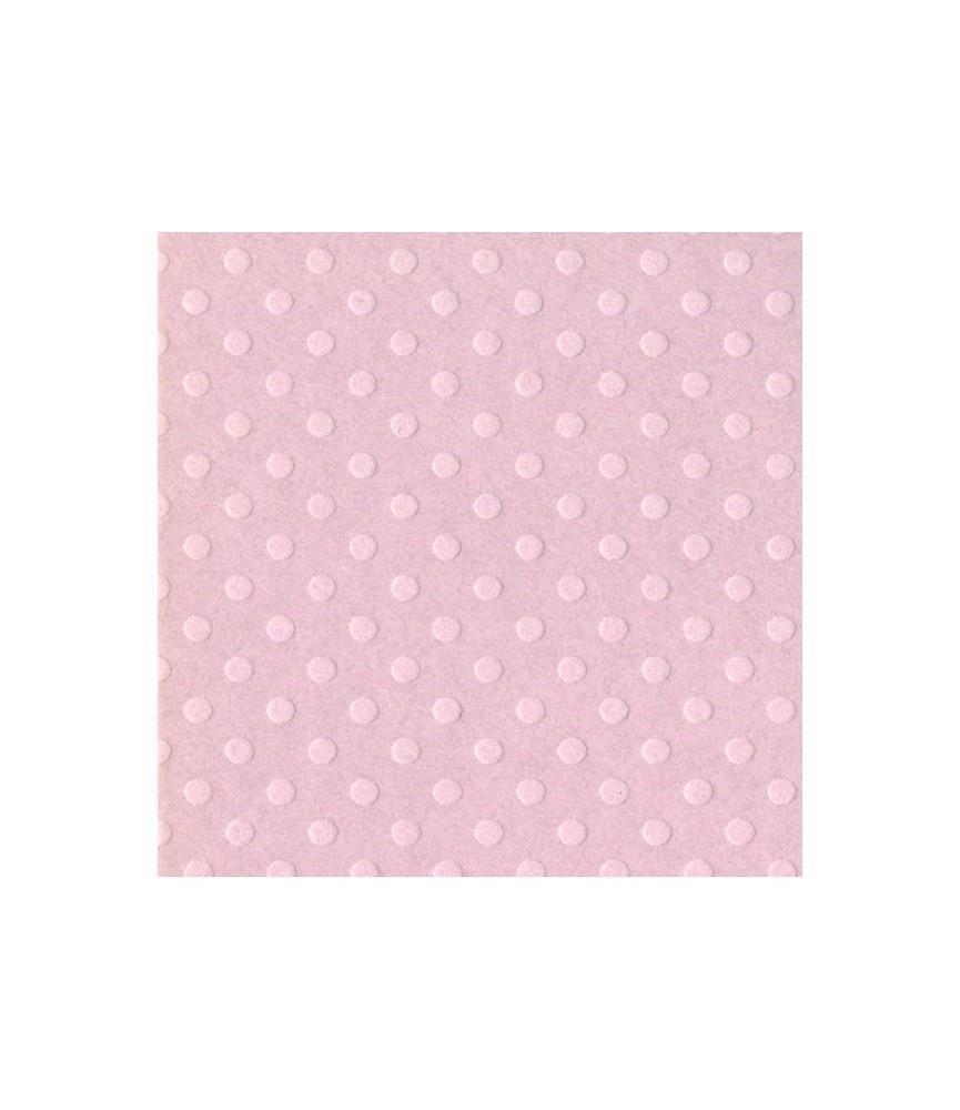 Papel Básico Bazzil puntos rosa claro