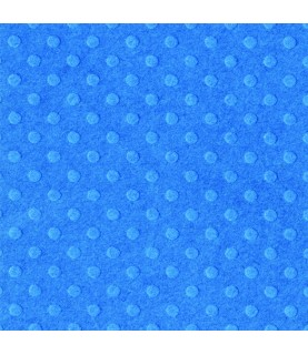 Papel Básico Bazzil puntos azul petroleo