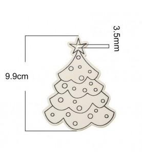 Comprar Silueta de madera arbol de navidad de Conideade