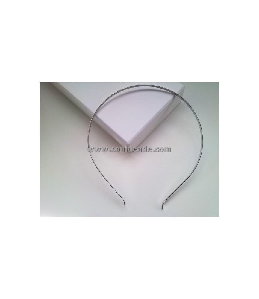 Diadema de metal 4 mm para forrar