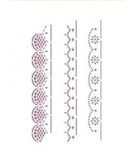 Plantilla stencil DIN-A4 Mod 3083