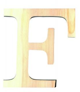 """Letra madera """"F"""""""