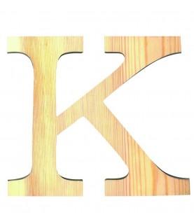 """Letra madera """"K"""""""