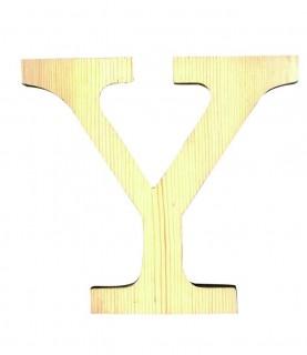 """Letra madera """"Y"""""""