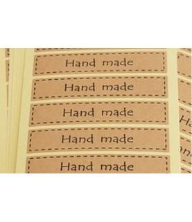 Comprar Set de 16 equitequetas hand made rectangular de Conideade