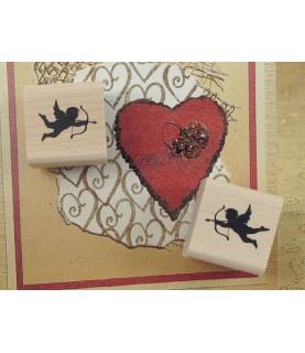 Comprar Set de 2 sellos de madera de cupido de Conideade
