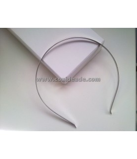 Diadema de metal 5 mm para forrar