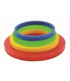 Set de 8 anillos niveladores para rodillo