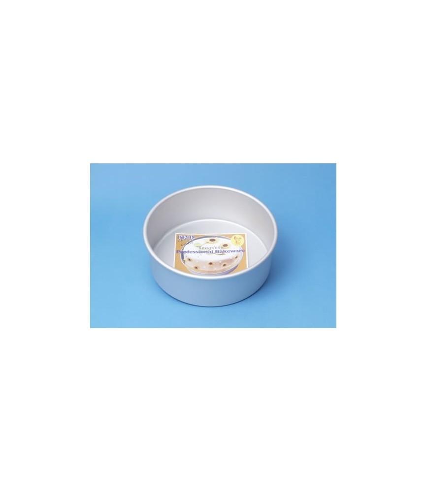 Molde redondo de 15 x 7,5 cm