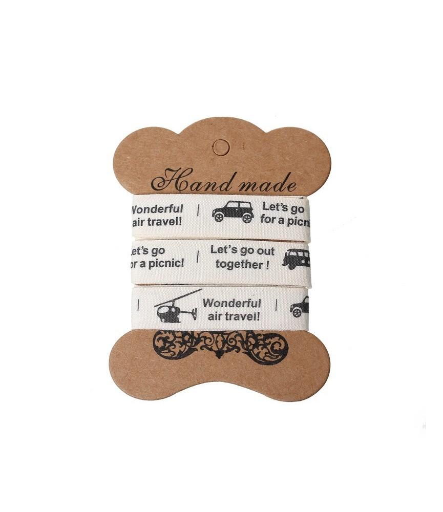 Rollo de 4,5 m de cinta adhesiva mod let´s go out
