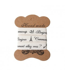 Imagén: Rollo de 4,5 m de cinta adhesiva mod Bonjour