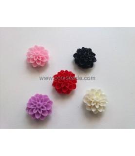 Pack de 5 flores de 16x8mm mod1