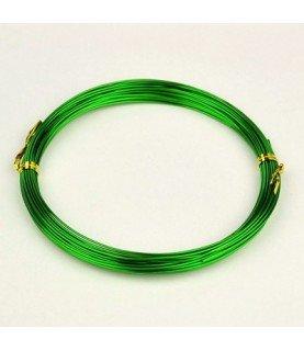 Comprar Alambre de aluminio verde 1mm de Conideade