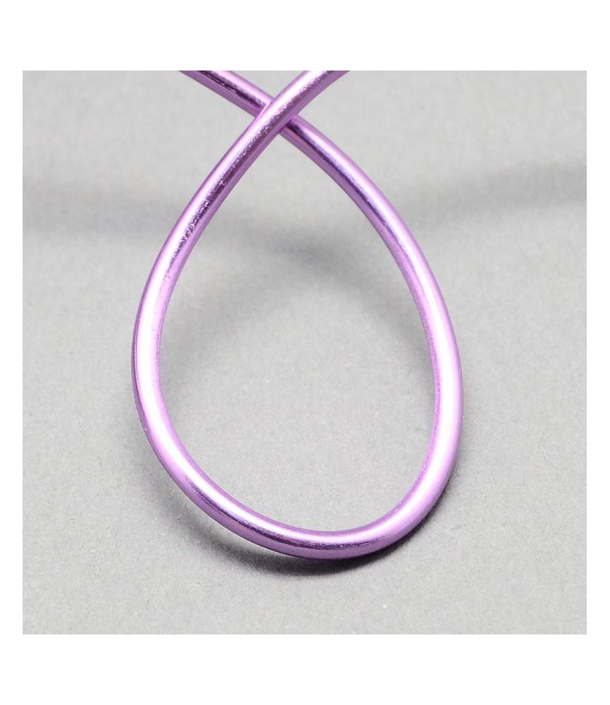 Alambre de aluminio 1.5mm lila