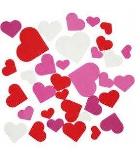 Comprar Pack 200 corazones de goma eva adhesivos de Conideade