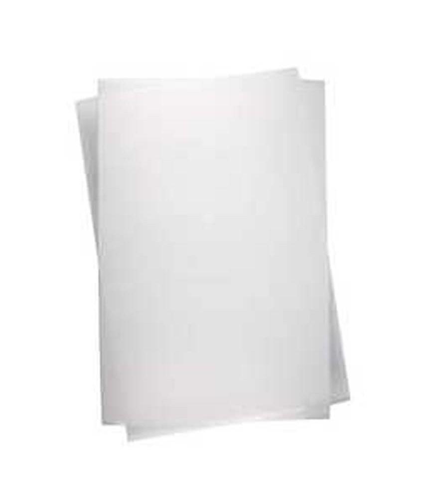 Lámina de plástico mágico blanco