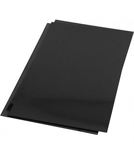Lámina de plástico mágico negro