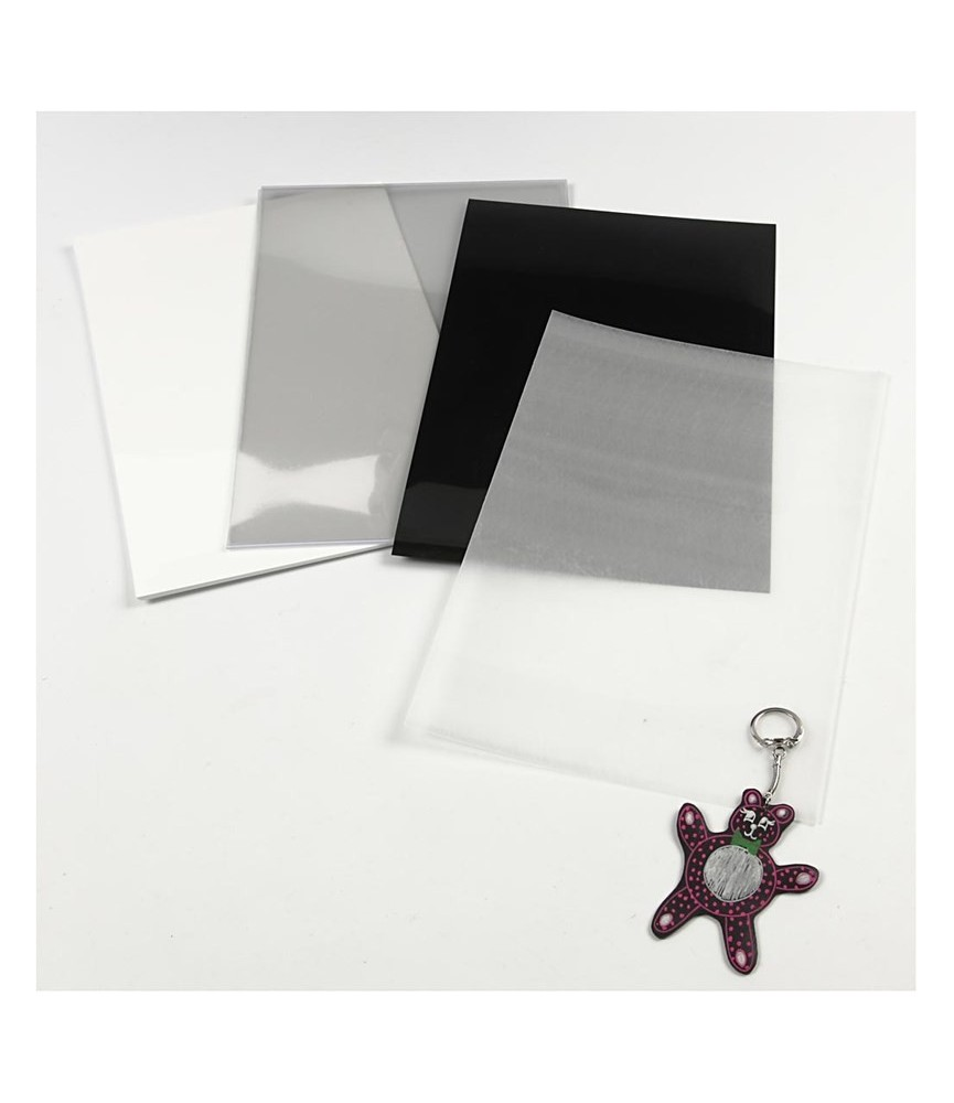 Lámina de plástico mágico transparente