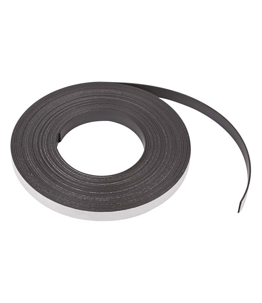 1 m de iman adhesivo de 12,5 mm