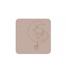 Comprar Album cartón oso luna 18x18 de Conideade