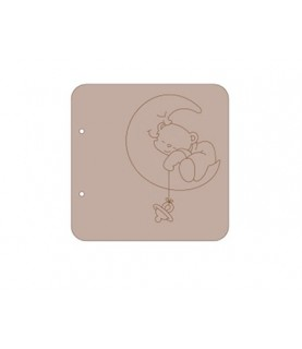 Album carton oso luna 18x18