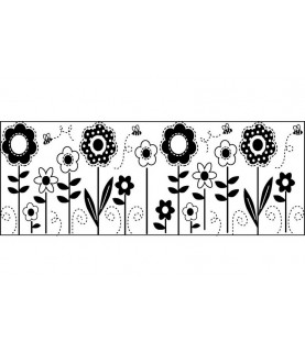 Tampón continuo flores