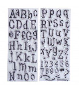 Comprar Sellos transparentes abecedario de Conideade