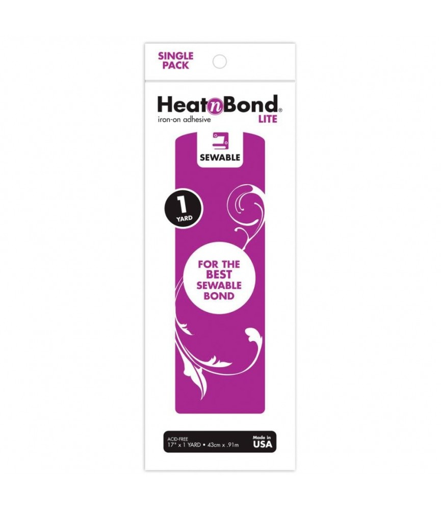 Entretela Heatn Bond Lite adhesiva dos caras