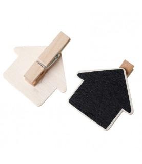 Imagén: Mini pinza pizarra flecha