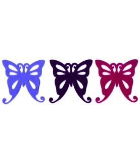 Pack 6 Mariposas de 10cm