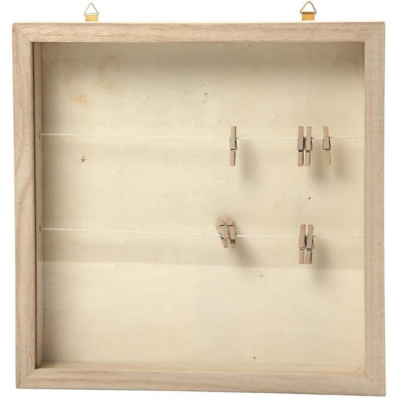 Marcos de madera para manualidades - Conideade