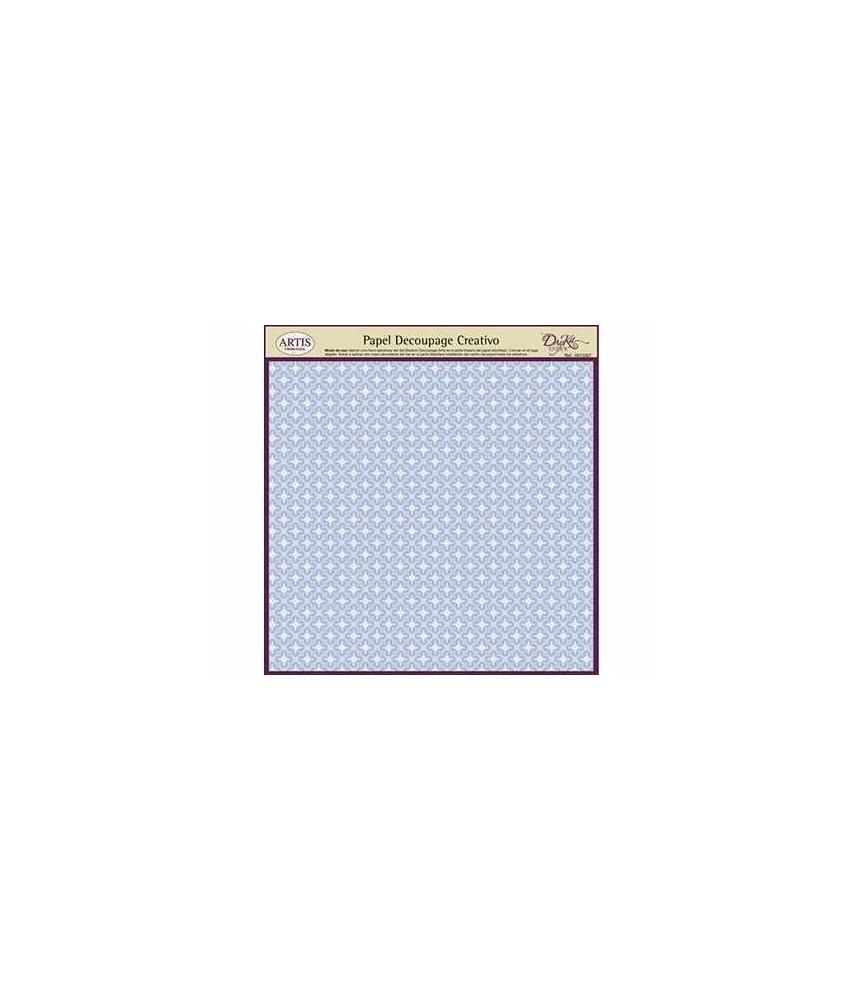 Papel decorativo para pegar basic azul