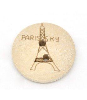 Comprar Pack de 4 botones madera vintage de Conideade