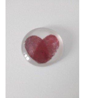 Comprar Cabuchon de cristal corazon 25mm de Conideade