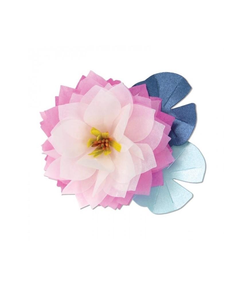 Troquel Sizzix bizg flor de Loto Brenda Walton