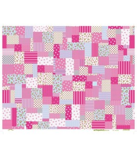 2 papeles decorativos mod flores rosas