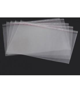 50 Bolsas de plastico transparente de 22cm x 20 cm