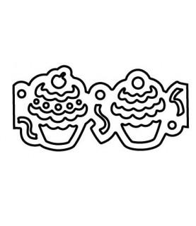 Perforadora de bordes cup cakes