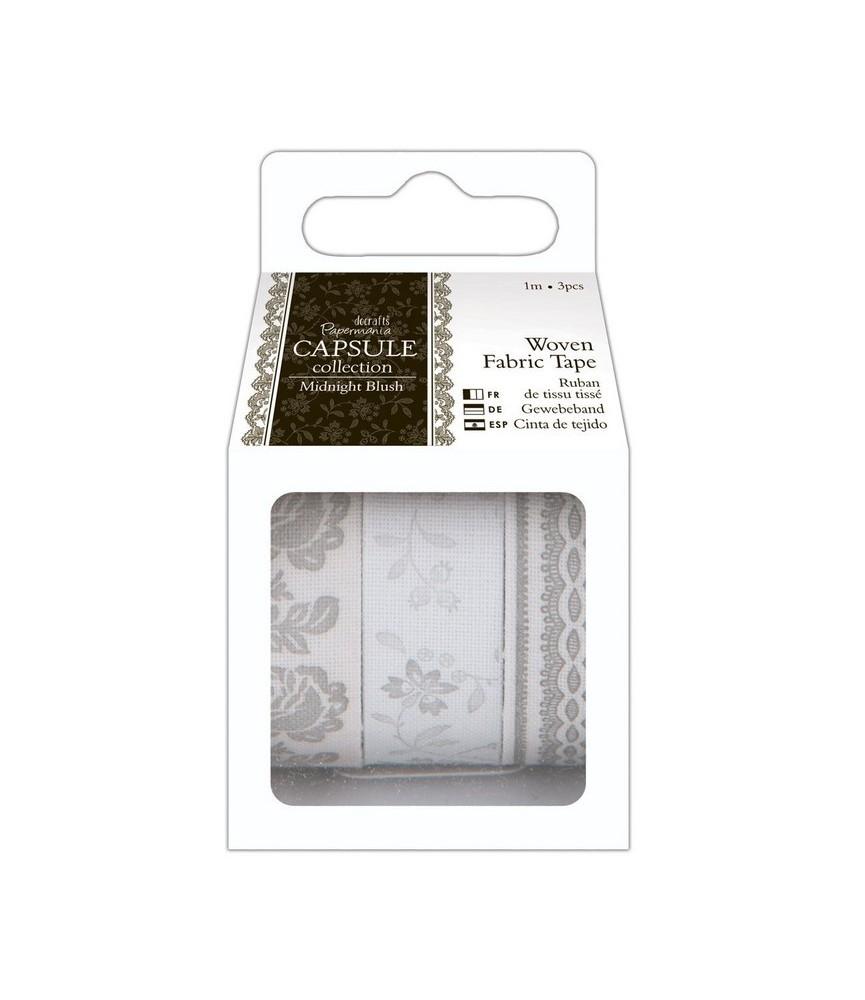 Pack 3 rollos de fabric tape Midnight Blush