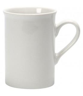 Taza de ceramina blanca