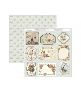Comprar Papel scrap 30,5 x30,5 tarjetas vintage de Conideade