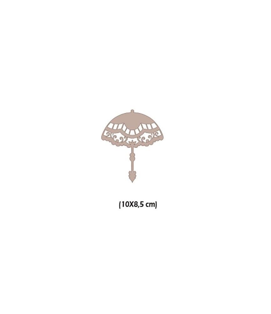 Paraguas poppins de carton