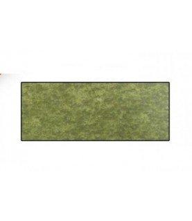 Comprar Tela de popelin verde botella marmoleada de Conideade