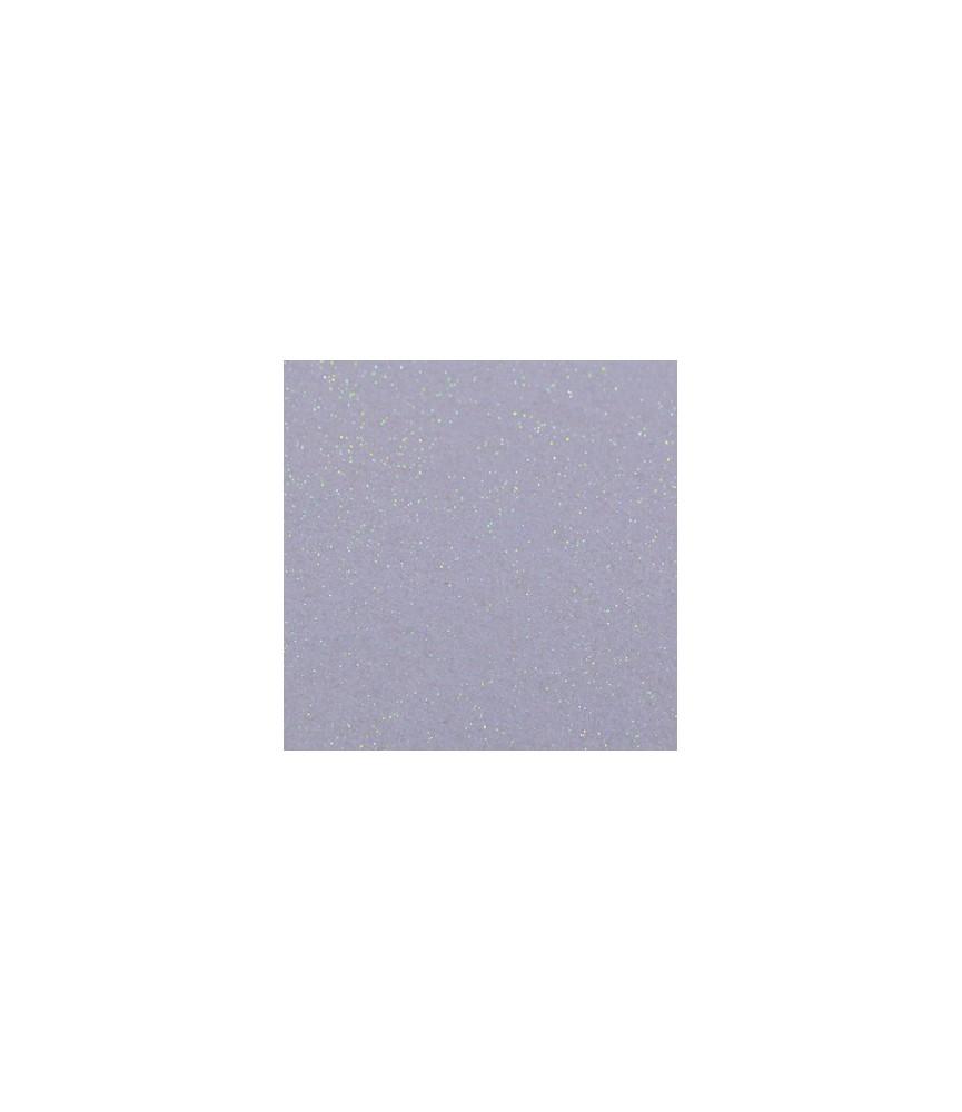 Hoja de fieltro purpurina celeste