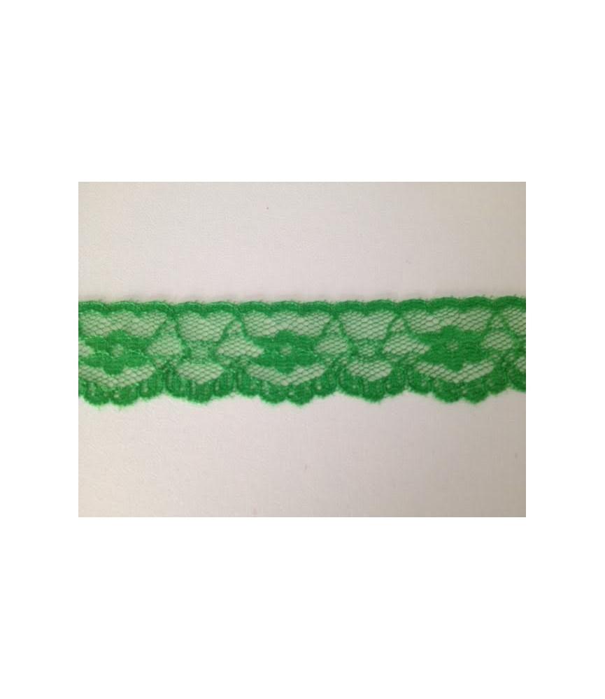 1 metro de Puntilla Nylon colores