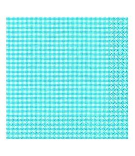 Imagén: Servilleta vichy colores 33x33 cm